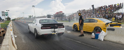 Dodge drew more than 30,000 enthusiasts to the First-ever Legal Street Drag Racing on Woodward Avenue with Roadkill Nights Car Festival.