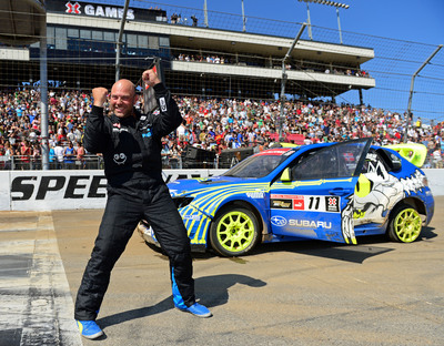 Subaru Driver Sverre Isachsen Wins Bronze Medal at X Games Los Angeles.  (PRNewsFoto/Subaru of America, Inc.)