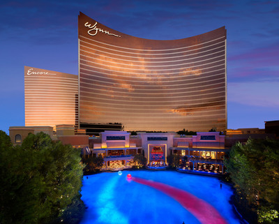 Conde Nast Traveler Readers Name Wynn Las Vegas and Encore the Number One Resort in Las Vegas for the Second Consecutive Year.  (PRNewsFoto/Wynn Las Vegas)