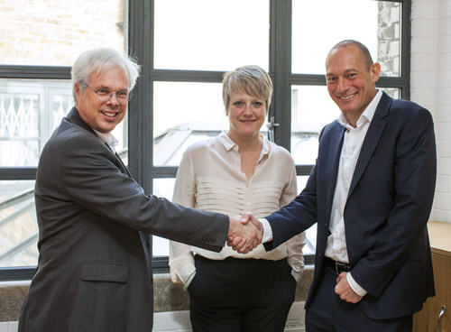 (From L to R): Peter Finn, Founding Partner, Finn Partners; Chantal Bowman-Boyles, Managing Partner, Finn ...