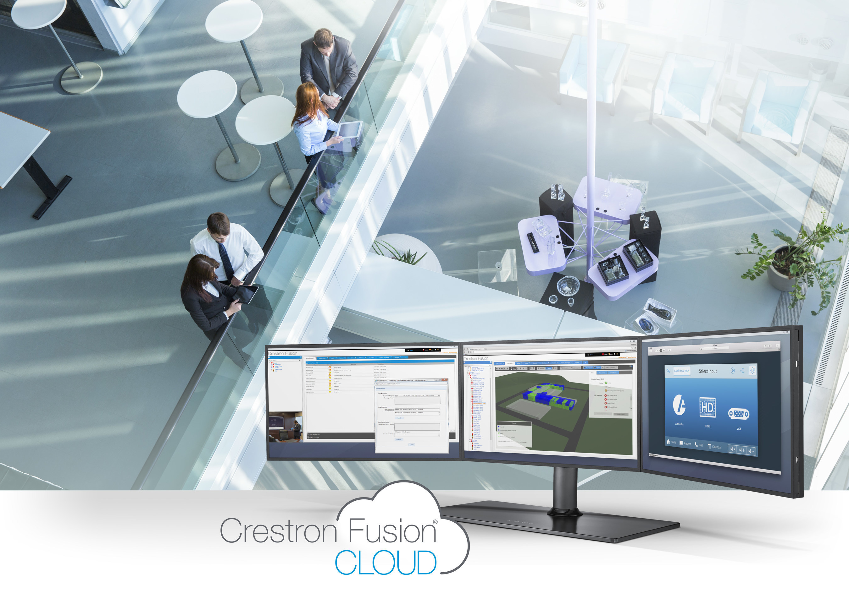 Unproductive meetings have been estimated to cost U.S. organizations $37 billion annually. Crestron's new PinPoint(TM) mobile app and Fusion(R) Cloud enterprise management platform help companies optimize the return on their biggest investments--their people, places, and technology.