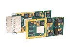 Acromag's new XMC-6260 and XMC-6280 10-gigabit Ethernet interface modules.  (PRNewsFoto/Acromag)