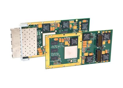 Acromag's new XMC-6260 and XMC-6280 10-gigabit Ethernet interface modules.  (PRNewsFoto/Acromag)