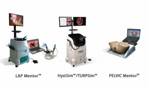 Simbionix VR Training Simulators for Women's Health Professionals (PRNewsFoto/Simbionix USA Corporation)