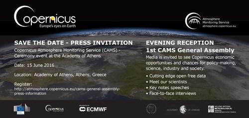 Save the date - press invitation (PRNewsFoto/Copernicus)