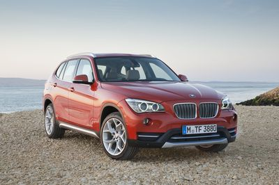BMW brand worldwide sales climbed by 14.3% in September. Pictured: the BMW X1. Der weltweite Fahrzeugabsatz der Marke BMW stieg im September um 14,3%.Im Bild der BMW X1.