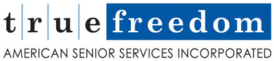 The newest offering from American Senior Services Incorporated (ASSI) is True Freedom II (//www.truefreedomhomecare.com), a membership program offering five (5) options of homecare for seniors starting as low as $95.00 per month. This allows seniors to enjoy professional care in the comfort of their own homes, at a fraction of the cost of going directly to care providers.  (PRNewsFoto/American Senior Services Incorporated)