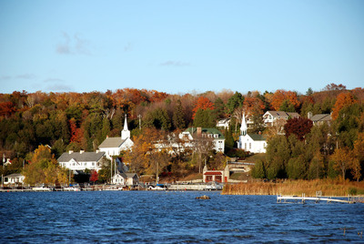 The scenic village of Ephraim sits along Door County, Wisconsin's western coast. Photo credit: Door County Visitor Bureau/DoorCounty.com.