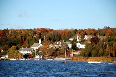 The scenic village of Ephraim sits along Door County, Wisconsin's western coast. Photo credit: Door County Visitor Bureau/DoorCounty.com.