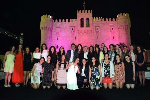 Alexandria International Squash Open - Opening dinner at Citadel (PRNewsFoto/Pharco Pharmaceuticals)