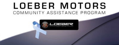 The Loeber Motors Community Assistance Program is a monthly Facebook voting campaign that gives nominated charities an opportunity to raise awareness for their causes and to earn a $500 contribution from the Loeber Motors. (PRNewsFoto/Loeber Motors)