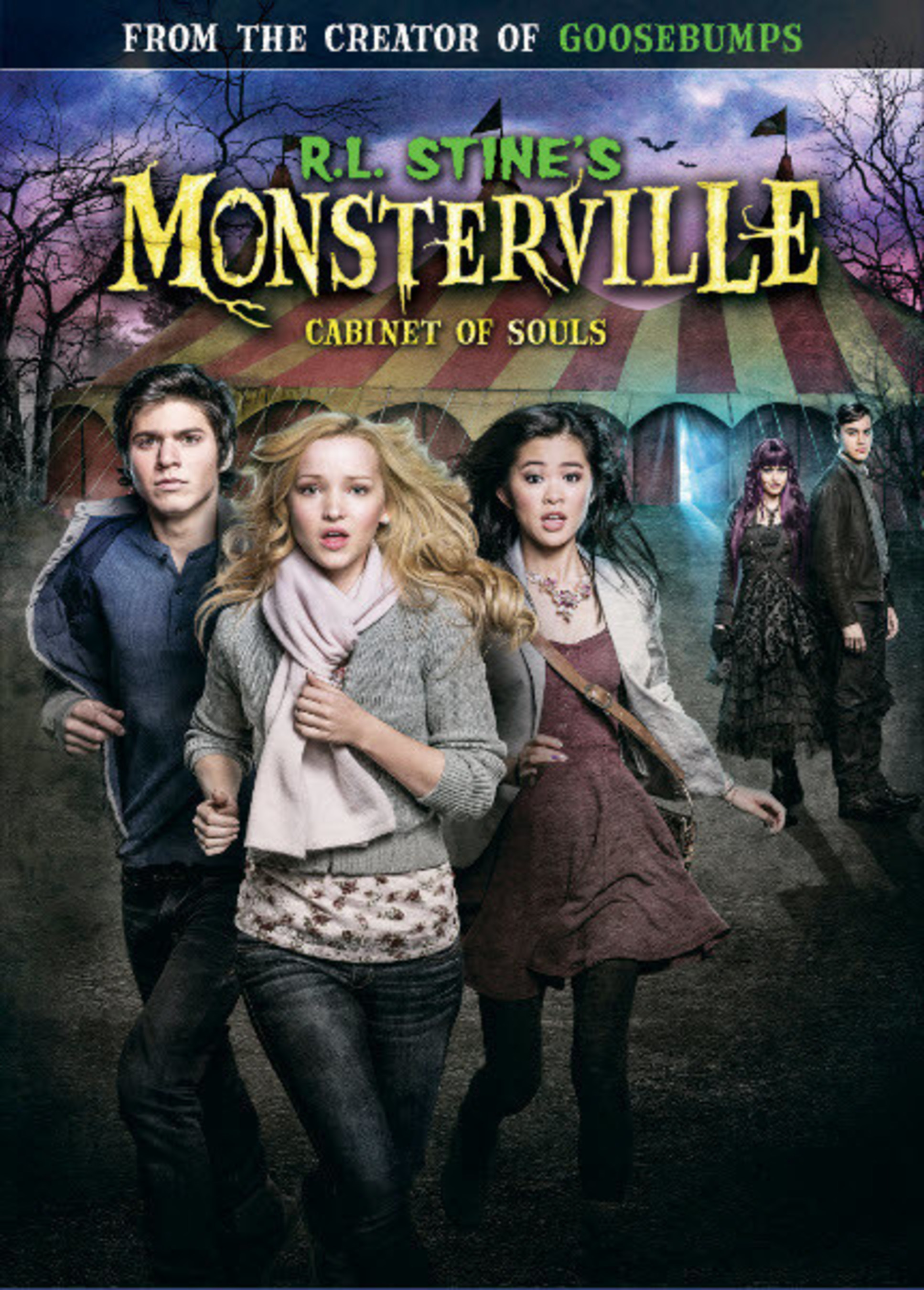 From Universal Pictures Home Entertainment: R.L Stine's Monsterville: Cabinet of Souls