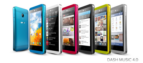 DASH MUSIC 4.0 (PRNewsFoto/BLU Products)