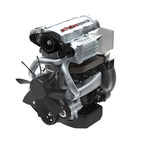 Achates Power Gasoline Compression Ignition Opposed-Piston Engine will yield fuel efficiency gains of more than 50 percent, while reducing the overall cost of the powertrain system.