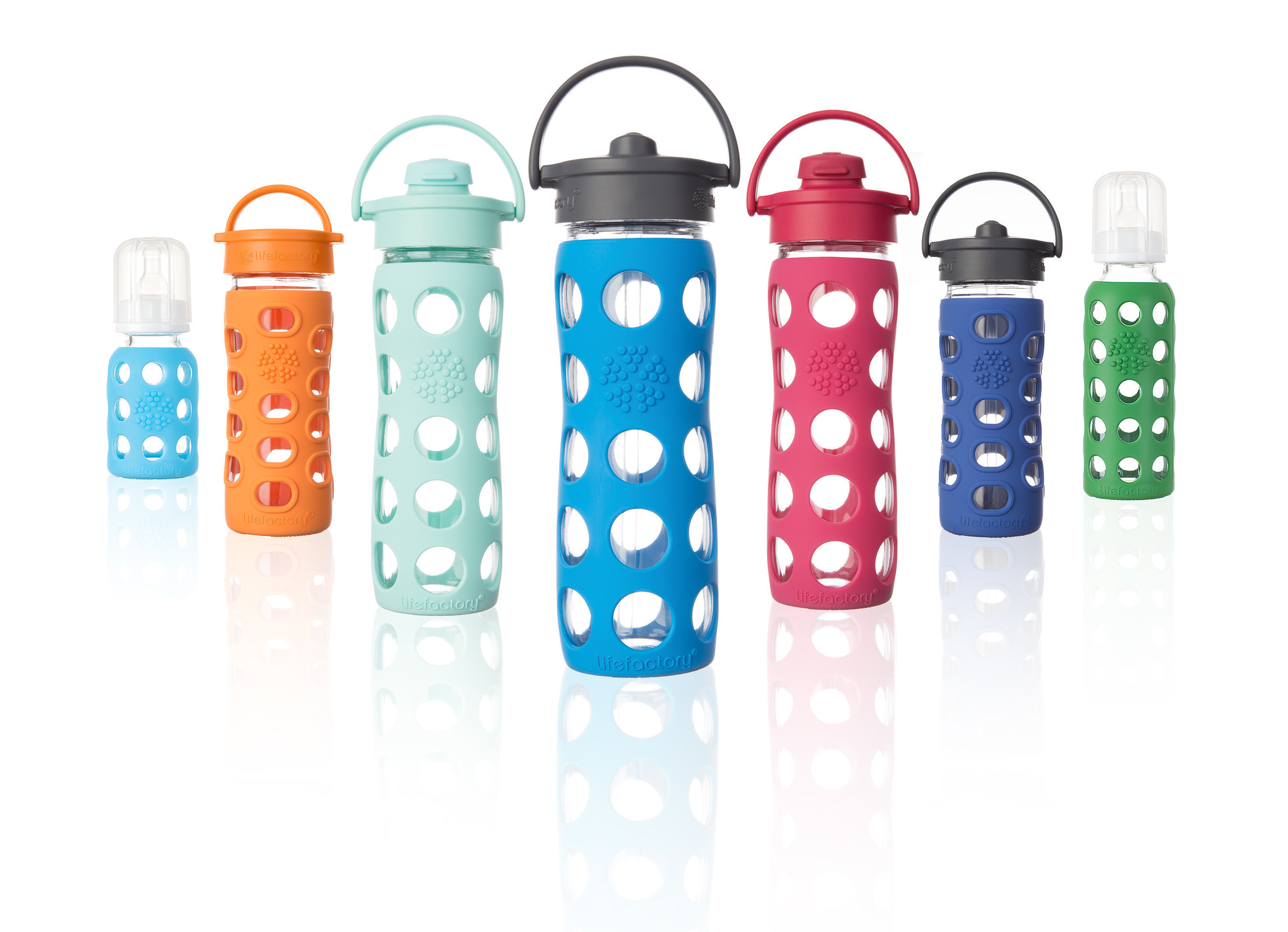 Lifefactory Glass Bottles