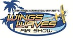 Embry-Riddle Aeronautical University's Wings & Waves Air Show, Oct. 11 & 12. (PRNewsFoto/Embry-Riddle Aeronautical Uni...)
