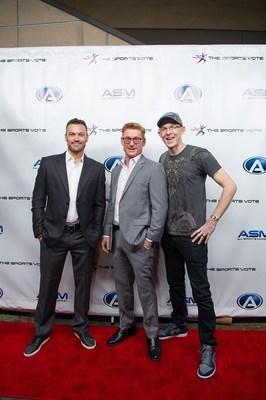 Brian Austin Green, Zack Ward and Ace Underhill