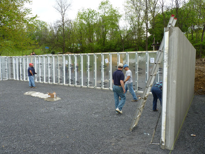 Superior walls of america sees 20 growth over last year for Prefabricated basement walls