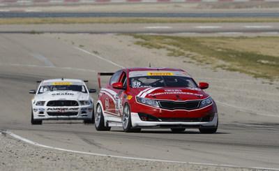 Kia Racing wins 2014 Pirelli World Challenge Championships. (PRNewsFoto/Kia Motors America)