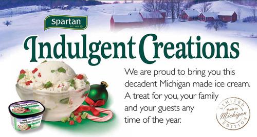 Spartan Stores Introduces Michigan-Made Premium Brand of Ice Cream