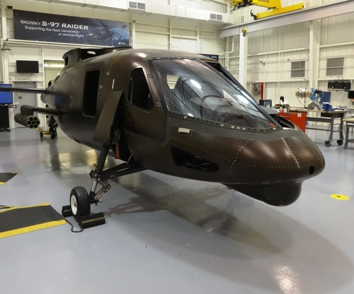 Electrical power to the S-97 RAIDER(TM) prototype helicopter has been turned on, signaling successful ...