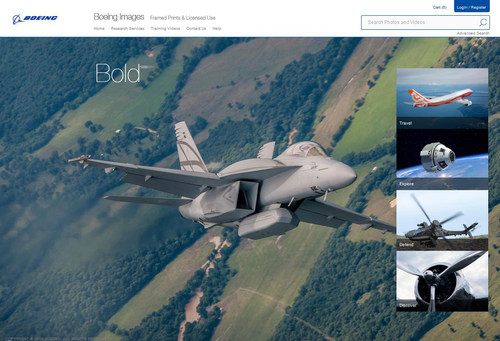 Boeing Opens Aerospace Photography Vault to Consumers