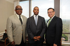 ThePad on Harvard partners: left to right, Jerome Russell, HJ Russell & Company, General Partner; Rod Mullice, Air Realty, General Partner; Romel Canete, Air Realty, General Partner.