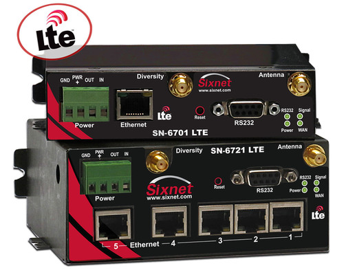 Red Lion Controls announces 4G LTE support for its Sixnet IndustrialPro 6000 series of industrial cellular ...