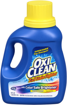 OxiClean(TM) 2in1 Stain Fighter Liquid with Color Safe Brightener, Fresh Scent.  (PRNewsFoto/Church & Dwight Co., Inc.)