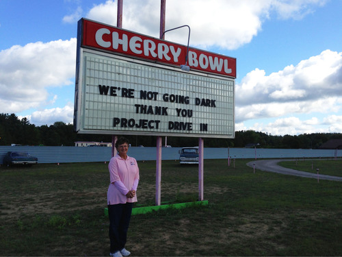 Honda Lights Up Movie Screens at Cherry Bowl Drive-In Theatre with Second Digital Projector Award. ...
