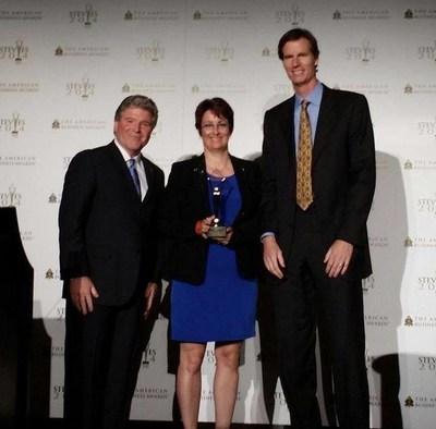 KEO Marketing Recognized with a Gold Stevie(R) Award (PRNewsFoto/KEO Marketing Inc)
