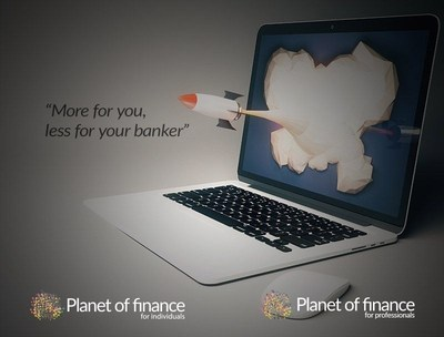 Planet of finance, the Indispensable Social Network for Wealth Management Professionals (PRNewsFoto/Planet of finance)