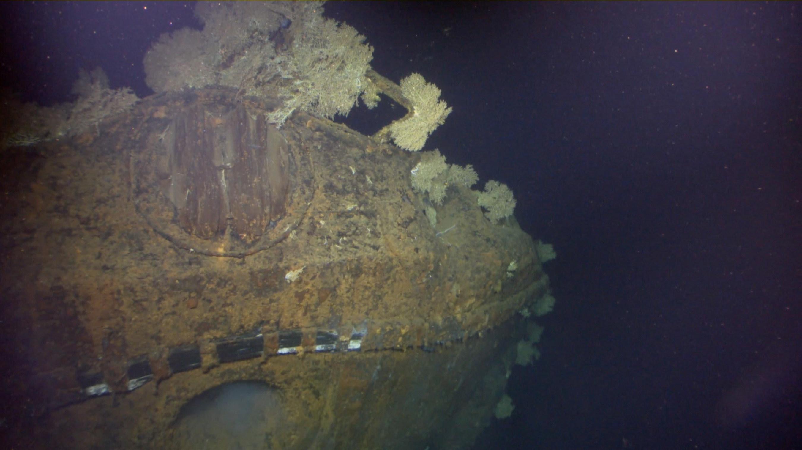 Paul G. Allen Locates Sunken Japanese WWII Battleship Musashi