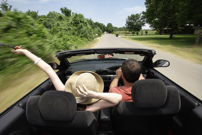 According to a national survey conducted by Hertz, 63% of UK population say they choose road trips to enjoy a sense of freedom and adventure. Hertz Fun Collection has been designed for all adventurous types who seek great looks and comfort for their set of wheels. (PRNewsFoto/Hertz Corporation)