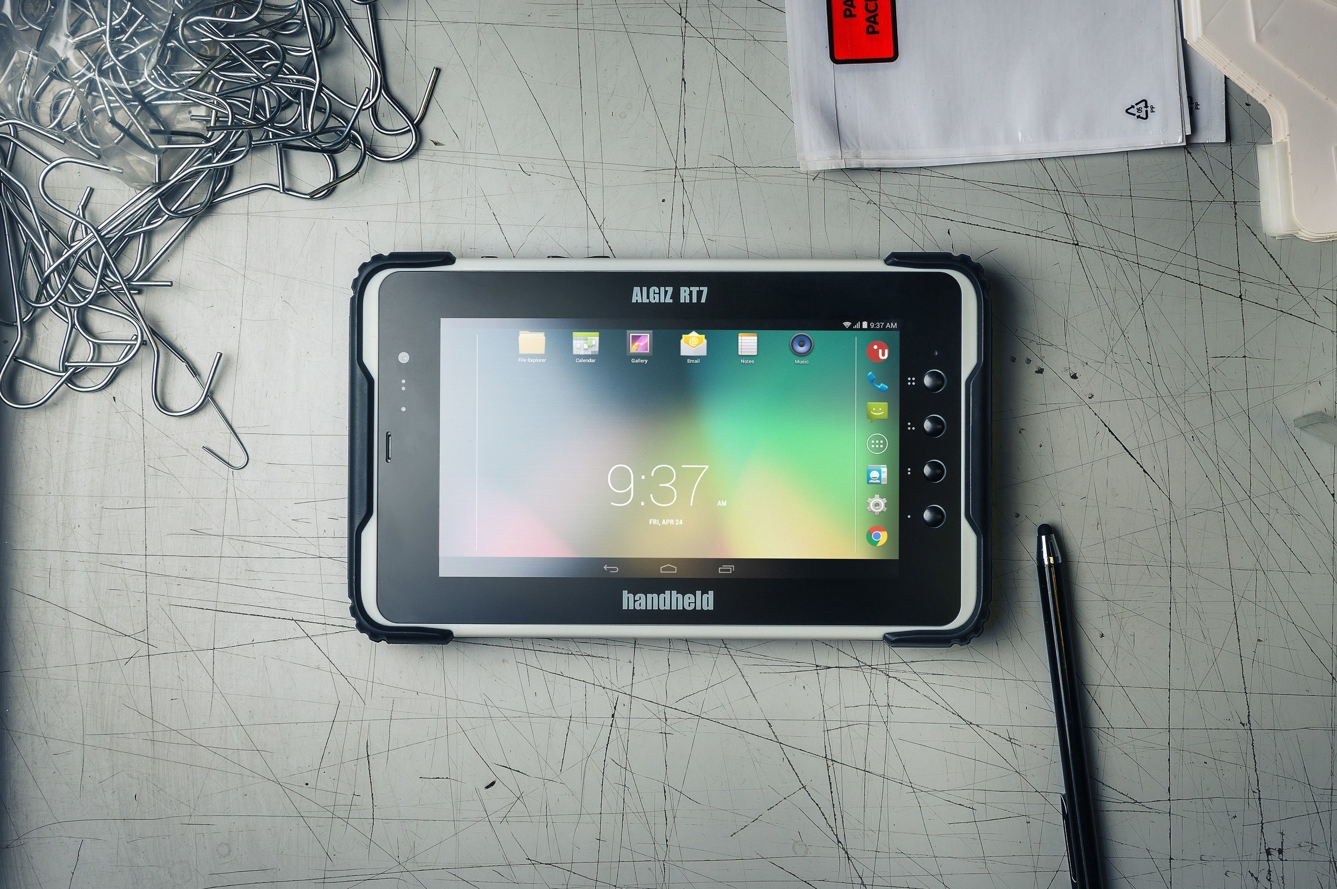 Handheld Launches Its First Ultra-Rugged Android Tablet -- the Best-in-Class ALGIZ RT7