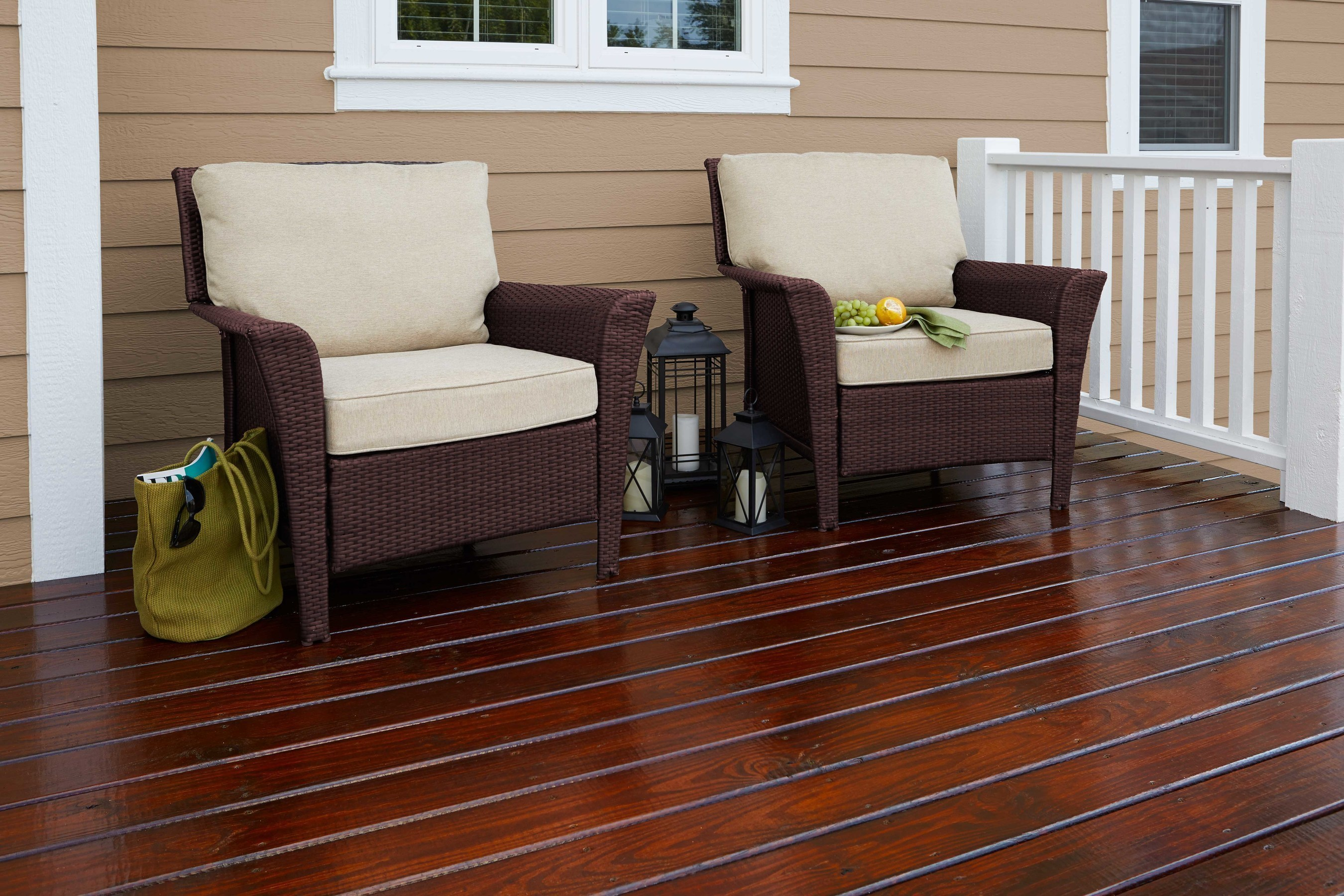 Cabot Gold Stain Provides A Luxurious Finish That Blurs The Lines Between  Indoor And Outdoor Living