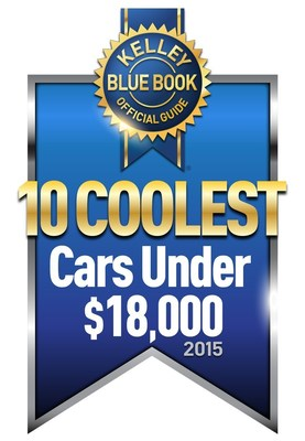 Kelley Blue Book's KBB.com Announces 10 Coolest New Cars Under $18,000