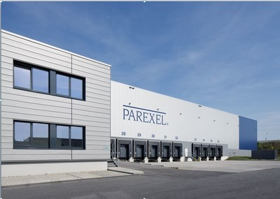 PAREXEL's new Clinical Trial Supply Coordination Hub and Distribution Center in Berlin-Schonefeld, Germany