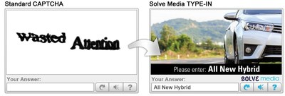 Adiant Acquires Solve Media's TYPE-IN™ CAPTCHA Advertising Business