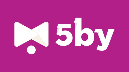 5by - your video concierge. (PRNewsFoto/5by) (PRNewsFoto/5BY)