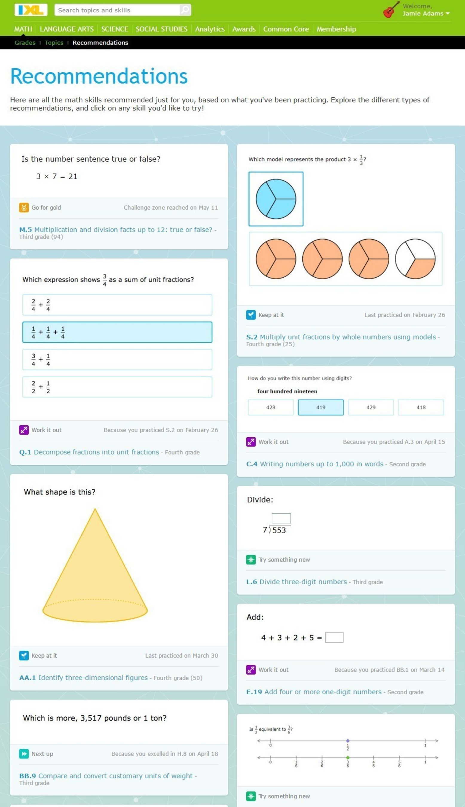 IXL Introduces Personalized Recommendations System to Help Students ...