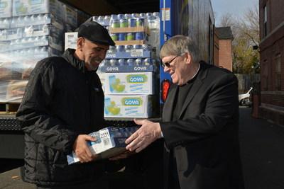 Goya Foods Donates 50,000 Pounds of Food to Catholic Charities of Washington