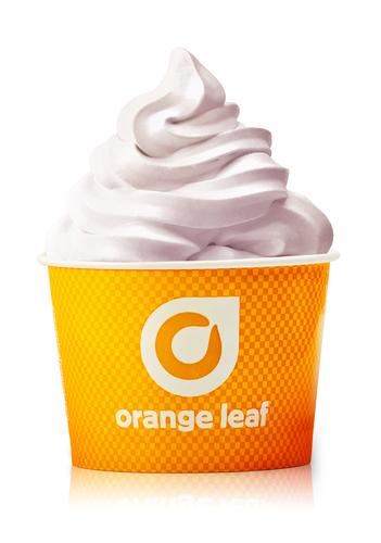 Orange Leaf Frozen Yogurt Introduces Blackberry Greek Flavor (PRNewsFoto/Orange Leaf Frozen Yogurt)