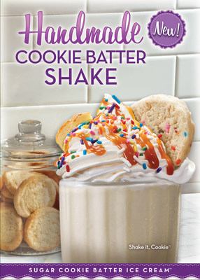 Cold Stone Creamery Offers New Sugar Cookie Batter Shake for a Limited Time!