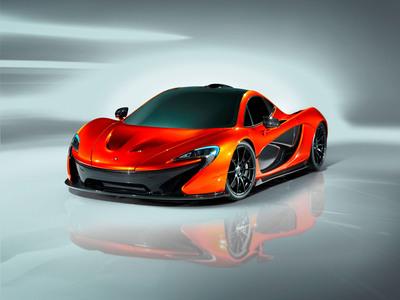 McLaren P1 Supercar Makes Global Debut in Paris
