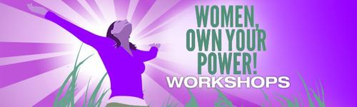 Women, Own Your Power! Workshops logo. (PRNewsFoto/Women, Own Your Power! Workshops) (PRNewsFoto/WOMEN, OWN YOUR POWER! WORKSHOPS)