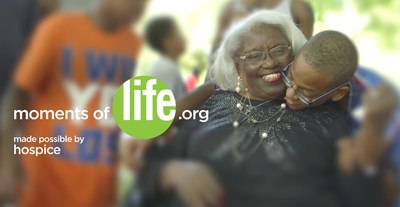 Live all the moments of your life with hospice. MomentsofLife.org