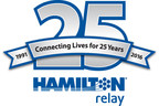 Hamilton Relay Celebrates 25 Years of Delivering Telecommunications Relay Service