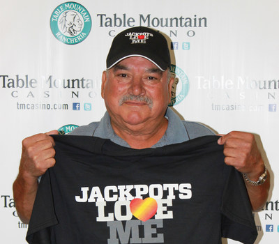 July is a lucky month! This is the THIRD Massive Cash Jackpot WIN this month alone! Congratulations to Manuel of Merced on his $66,790.56 WIN! Photo Credit: Table Mountain Casino