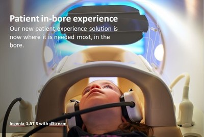 Our new patient experience solution is now where it is needed most, in the bore.